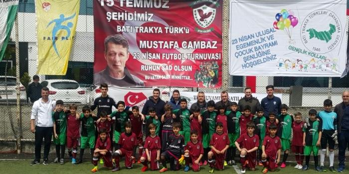 Şehit Mustafa Cambaz Futbol Turnuvası Sona Erdi
