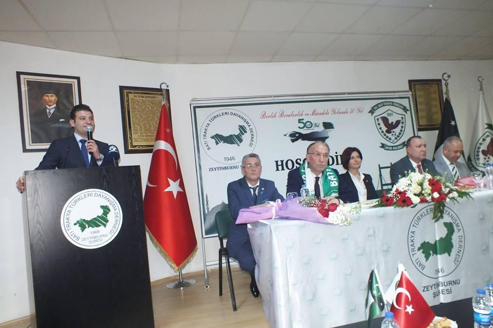 Siyasilerin Zeytinburnu Şube  Ziyaretleri Devam Ediyor