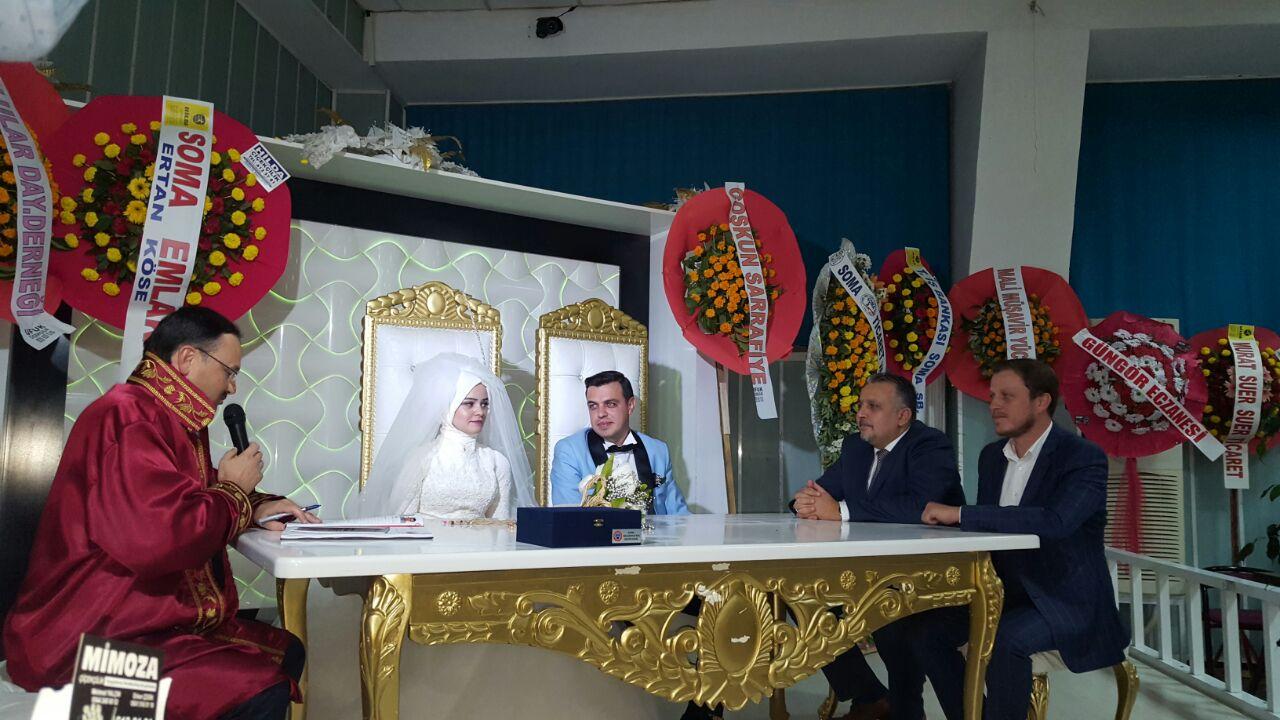 Soma Şube Başkanımız Mehmet Akın'ın Mutlu Günü