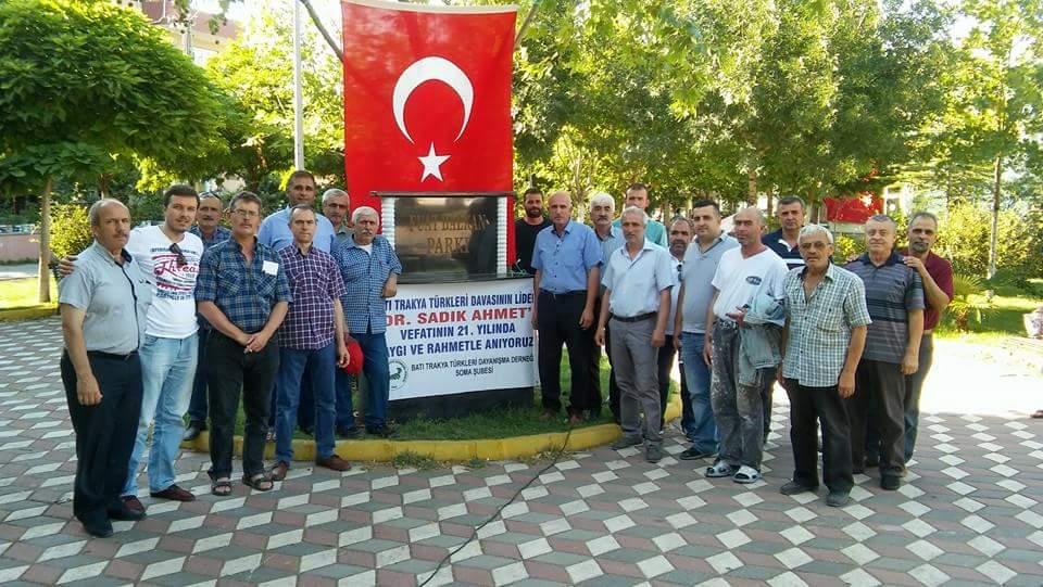 Soma Şubesinde Dr. Sadık Ahmet ve Şehitler İçin Lokma Hayırı