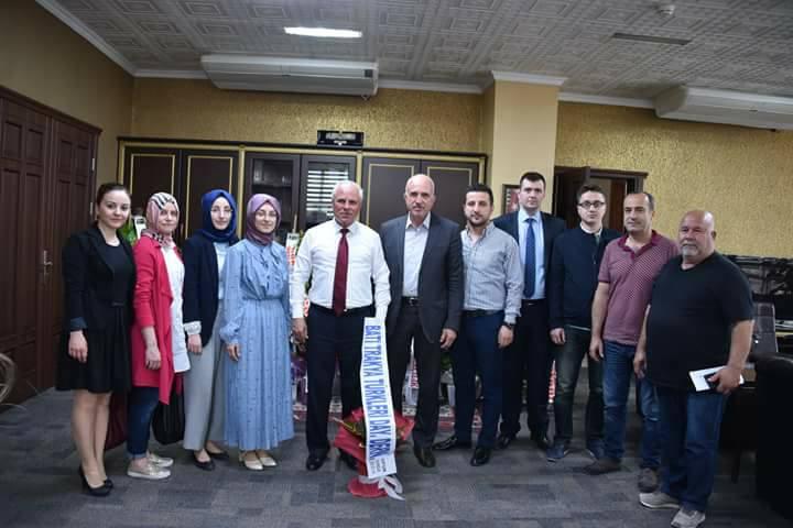 Soma'da Belediye Başkanına Hayırlı Olsun Ziyareti