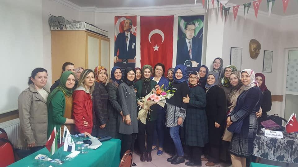 Soma'da Dünya Kadınlar Günü Buluşması