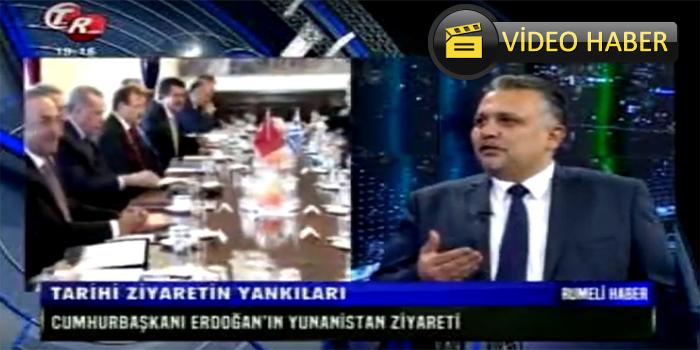 TEK Rumeli TV Ana Haber Bülteni Necmettin Hüseyin