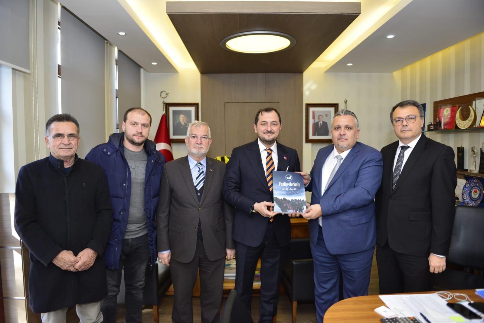Genel Başkandan Süleymanpaşa Belediyesine Ziyaret