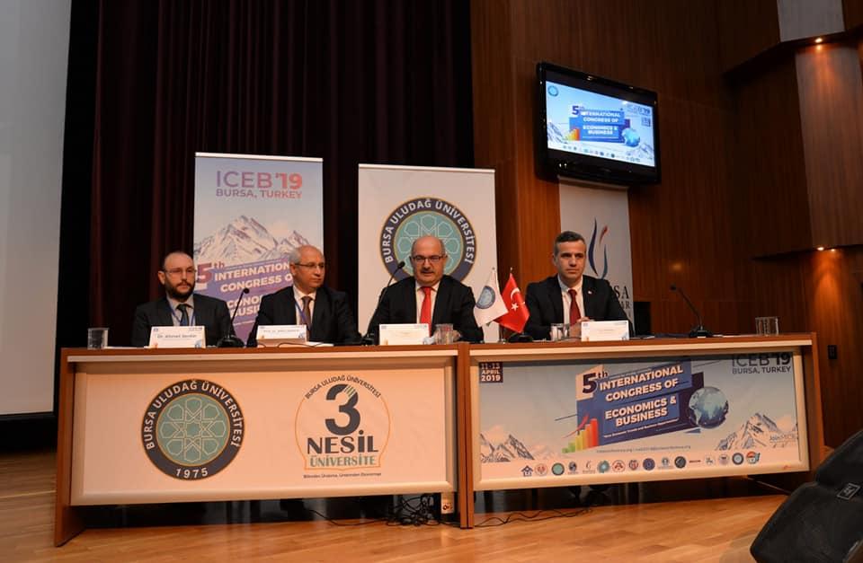 Uludağ Üniversitesi'nde Uluslararası Ekonomi ve İşletme Kongresi