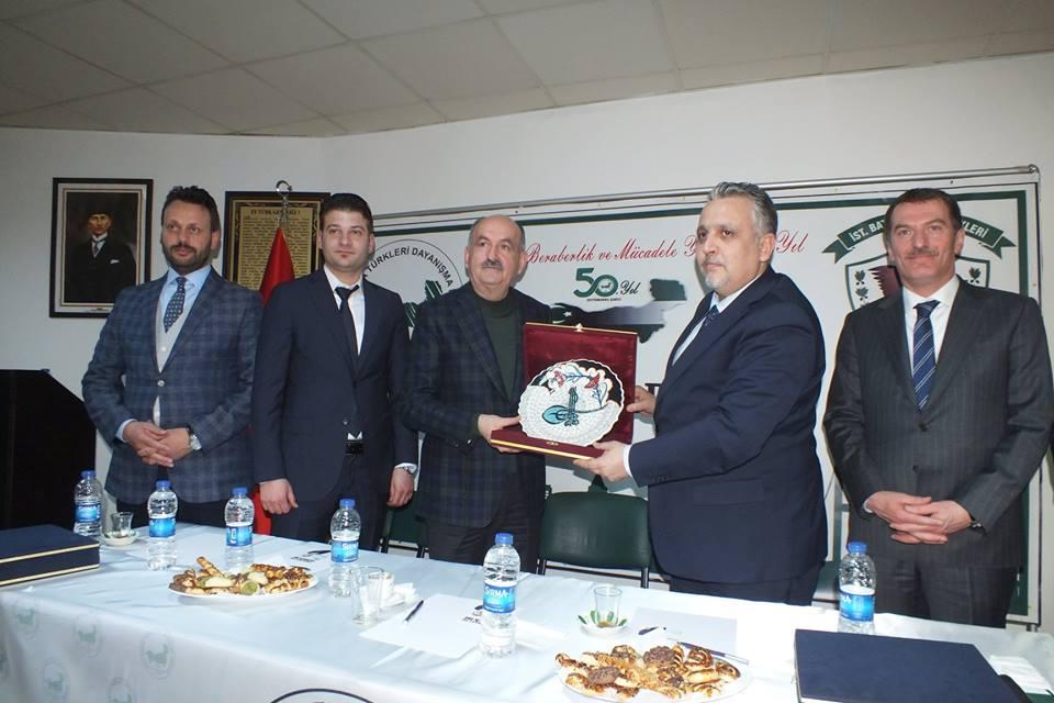 Zeytinburnu Şubemiz Siyasileri Ağırladı