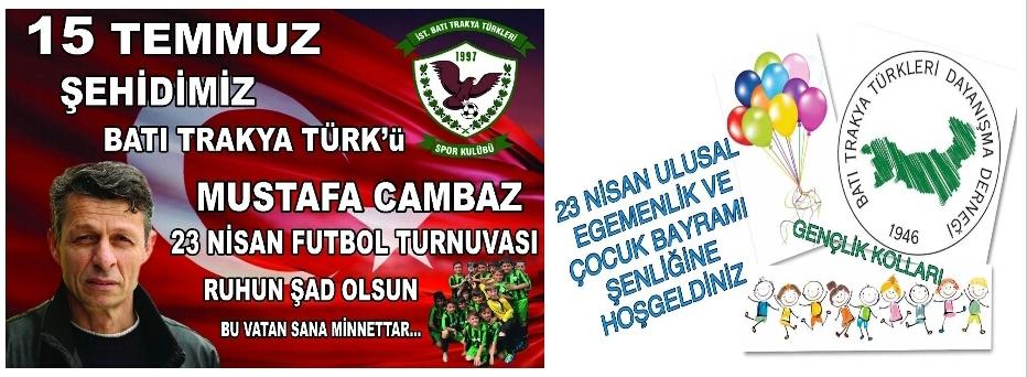 Zeytinburnu'nda Mustafa Cambaz Futbol Turnuvası